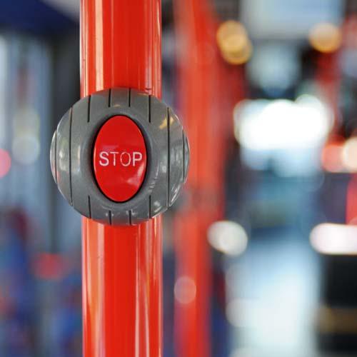 Befragungen im Bus